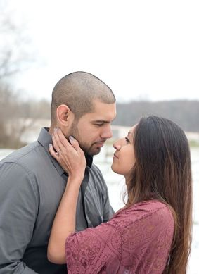 Intimate Engagement Session Farm Park Derwood MD